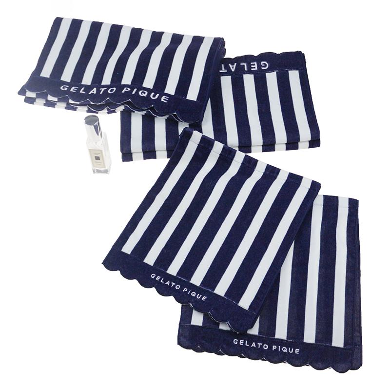 全棉定制数码印花条纹浴巾