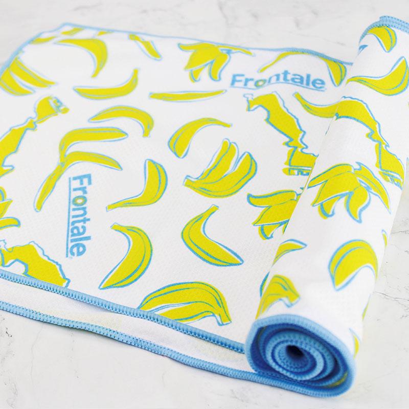 定制香蕉图案吸汗速干冷冷感巾
