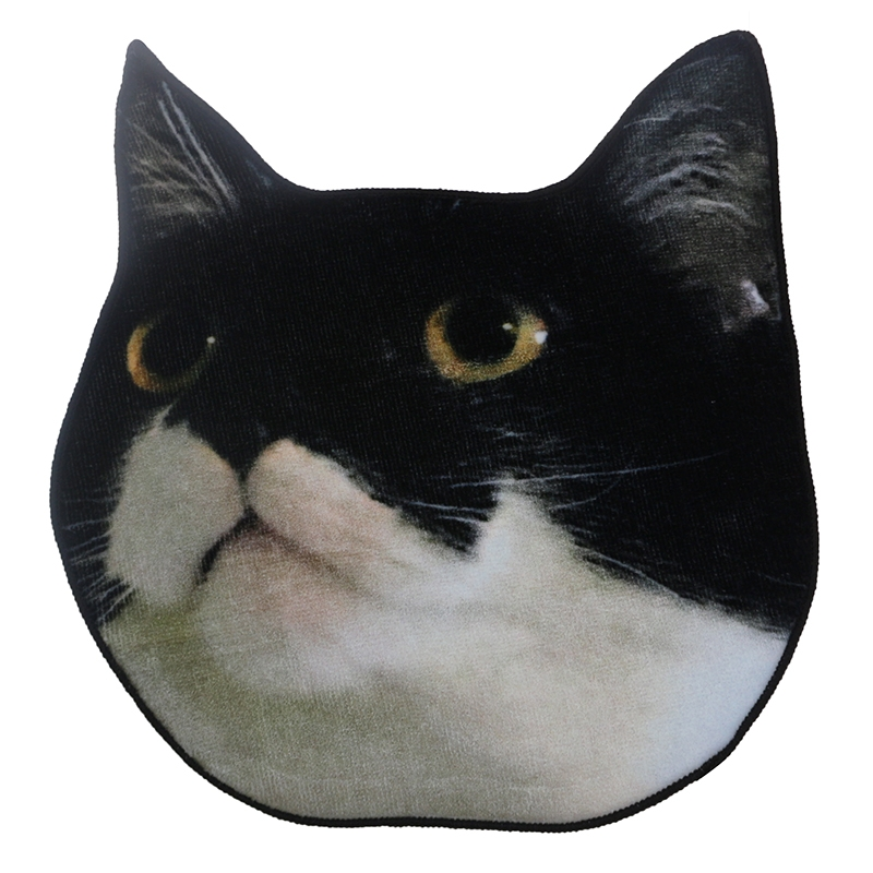 全棉数码印花宠物头像定制方巾