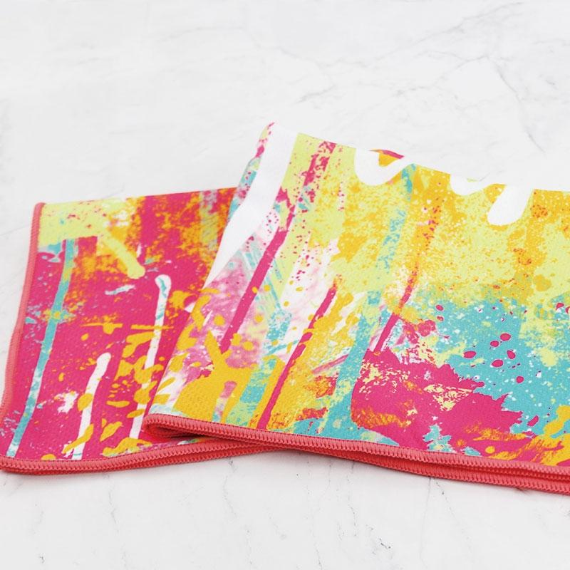 彩色涂鸦定制吸汗降温冷冷感巾