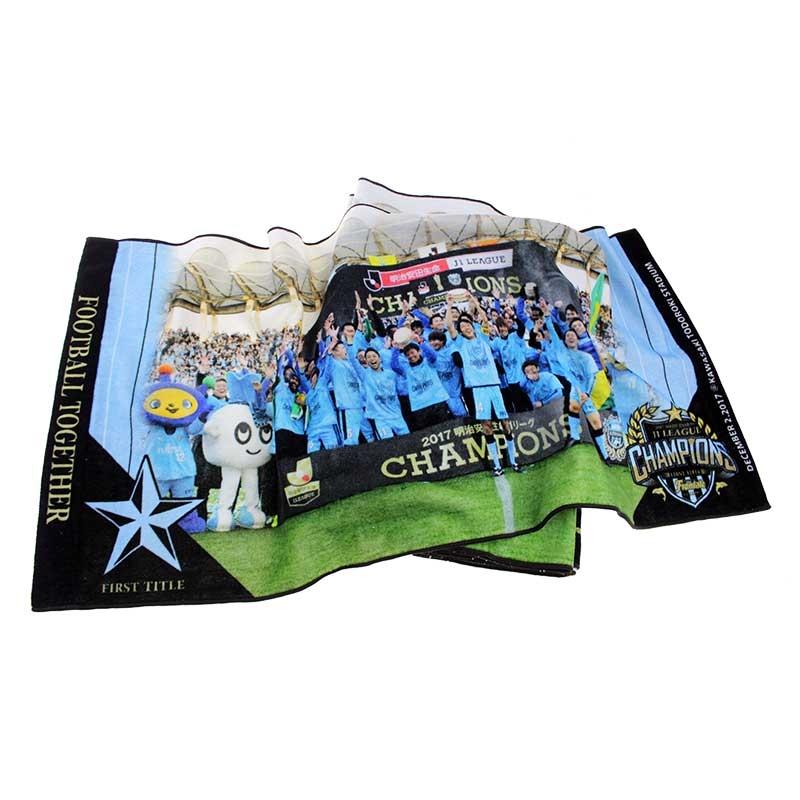 球队合照收藏级全棉数码印花毛巾
