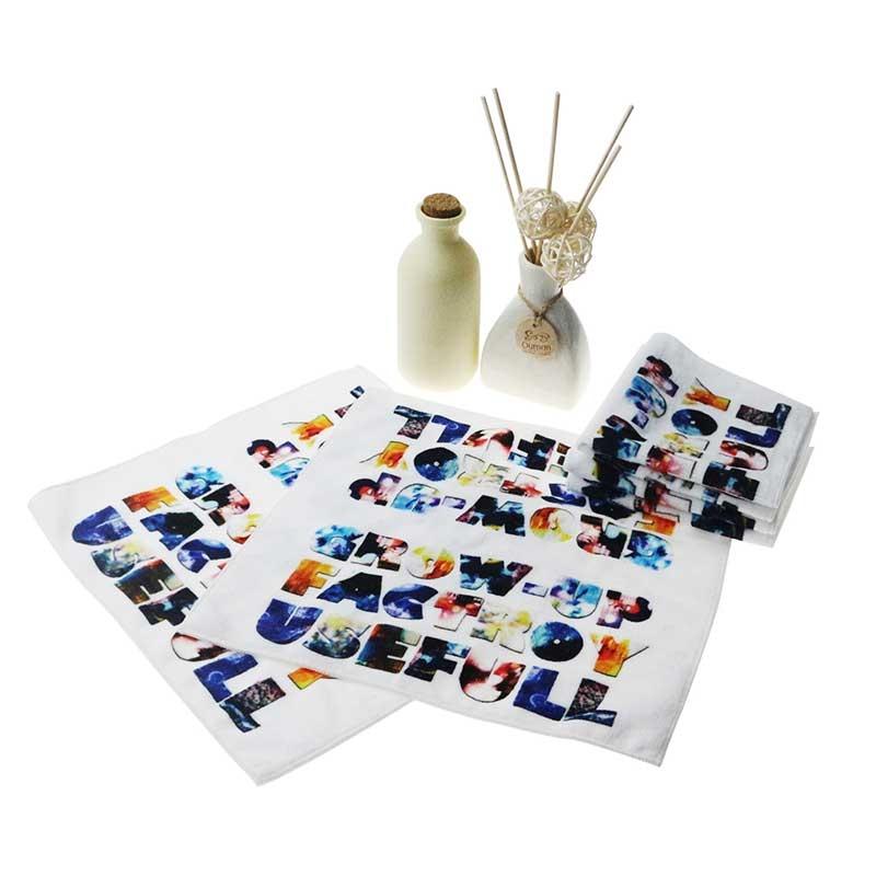 创意儿童口水巾数码印花毛巾定制