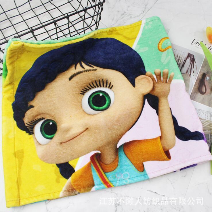 南通工厂定制棉质数码印花柔软吸水洗脸大毛巾