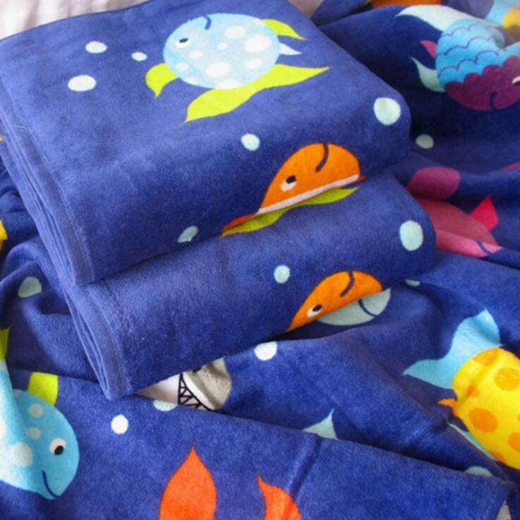 毛巾厂家直供热带风印花成人定制加大吸水吸汗大浴巾