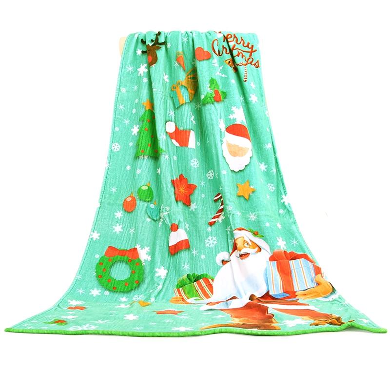 毛巾厂家棉系数码印花毛巾定制加大加厚大浴巾