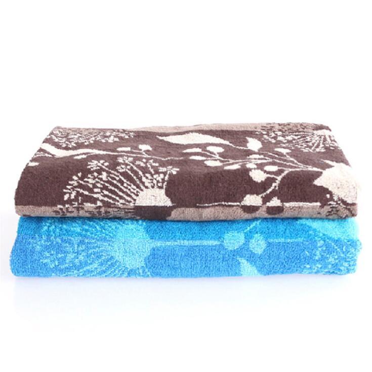 外贸品质南通毛巾厂家棉质提花吸水吸汗加大加厚大浴巾