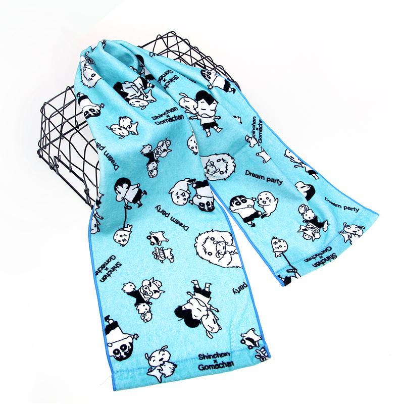 个性化定制纯棉数码印花运动毛巾